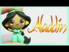 Disney Frozen Anna Polymer Clay Charm Tutorial - Chibi - YouTube