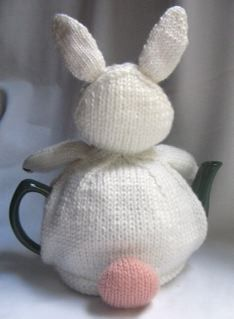 Rabbit  Tea Cosy  KNITTING PATTERN  downloadable by RianAnderson, $4.00