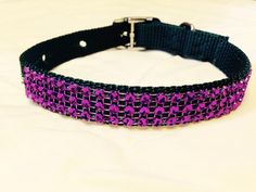 Sparkling Small Dog Collar by DogFabulous on Etsy