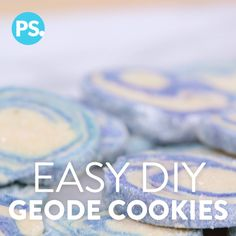 We have been falling in love with the geode trend in desserts for a while, but most of the geode cookies we saw out there require a ton of frosting technique, and we wanted to make these foolproof. So we have an easy slice-and-bake version that will give you the gorgeous designs you want without all of the work. Enjoy!