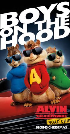 Alvin and the Chipmunks: The Road Chip (2015) coming December
