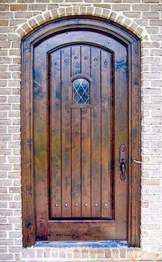 Old World Exterior Doors