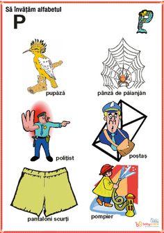 Romanian Language, Kids Education, Romans, Homeschool, Logos, Fictional Characters, Montessori, Craft, Embroidery