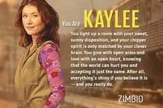 I GOT KAYLEE. SUCK ON THAT. Which Firefly character are you? #Firefly #Kaylee