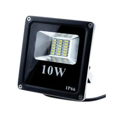 Continuous Light High Quality LED Flood Light 10W 5400K Daylight White |3-Pack