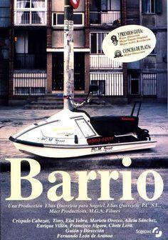Barrio: 3 amigos comparten a súa vida e as súas dificultades nun barrio da periferia dunha grande cidade. O Drama, I Movie, Film, 1990s, Amigos, New Movies, Movie Posters, Event Posters, Mansions