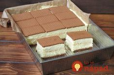 Ciasto cappuccino w 20 minut - Obżarciuch Cookie Desserts, Sweet Desserts, Tasty, Yummy Food, Pastry Cake, No Bake Cookies, Ice Cream Recipes, Homemade Cakes, Desert Recipes