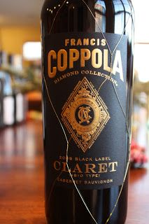 """81% Cabernet Sauvignon, 9% Petit Verdot, 5% Malbec, 3% Merlot and 2% Cabernet Franc from California. SRP of $20 and available for $12.99 at Costco. Sample received courtesy the winery for review purposes. From the bottle: """"Francis Coppola Diamond Collection Claret, as its British-derived name implies, is made in the same style as Bordeaux's finest …"""