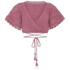 She Made Me Amira crochet cotton top White Crochet Top, Crochet Summer Tops, Crochet Crop Top, Crochet Blouse, Crochet Motif, Crochet Designs, Crochet Bikini, Knit Crochet, Crochet Patterns