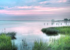 Sunset over the Currituck Sound in Duck, North Carolina. Duck North Carolina, North Carolina Beaches, Living In North Carolina, North Carolina Homes, Beautiful World, Beautiful Places, Beautiful Pictures, Outer Banks Nc, The Longest Journey