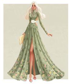 Fashion Show Dresses, Fashion Drawing Dresses, Fashion Design Portfolio, Fashion Design Drawings, Fashion Illustration Poses, Fashion Illustrations, Barbie Fashion Sketches, Fashion Figure Drawing, Dress Sketches