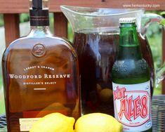 Woodford Reserve and Ale 8 Bourbon Slush