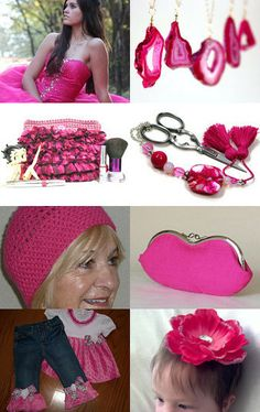 Hot Pink Anyone?  by Shelly on Etsy--Pinned with TreasuryPin.com
