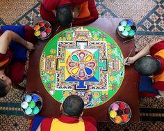 Tibetan mandalas