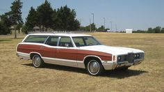 1971 Ford Country Squire station wagon.