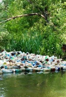 Pollution: One American produces 3285 pounds of waste each year