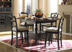 Dining Rooms, Westbury Counter Height Table, Dining Rooms | Havertys Furniture