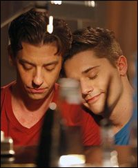 Christian Borle and Andy Mientus Photo by Will Hart/NBC     .....rh