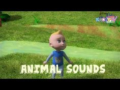 Animal Sounds Song | Learn Animals Name and Sound | Kachy TV Nursery Rhymes - Kids Songs - YouTube #animal #animals #learning #names #nursery #kachytv
