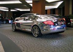 White Gold Mercedes Benz