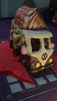 VW bus gingerbread