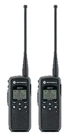 2 Pack of Motorola Two Way Radio Walkie Talkies: 2 Pack of Motorola two-way radios. Each radio comes complete with factory default programming all call channel), a single-unit charger, hour lithium ion battery, belt holster and warranty. Derby, Electronics For You, Camping Gadgets, Two Way Radio, Car Audio, Walkie Talkie, Coupons, Discount Purses, Hunting Gear