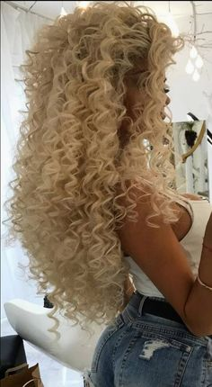 Learn amazing hair care tips and hints. Hairstyle Try On. Big Curls For Long Hair, Long Curly Hair, Big Hair, Curly Hair Styles, Natural Hair Styles, Permed Hairstyles, Retro Hairstyles, Black Hairstyles, Gyaru Hair