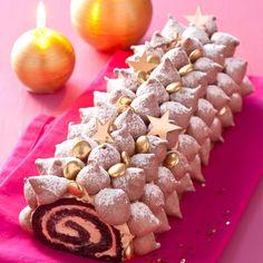 Le pâtissier préféré des gourmands nous propose sa version ultra-glamour du grand classique de Noël. Découvrez pas à pas, tous ses secrets pour la réussir.