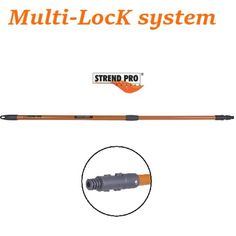 Coada telescopica EP30 Multi-lock system 0.8-1.4m pentru unelte strendpro premium - stulte.ro Lock System