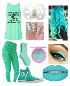 """""""Mint Mermaid Little Girl 