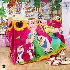 Cartoon character inspired fleece/flannel throw size blanket 100 x 140cm - - - Post Included Aus Wide and to most international countries!