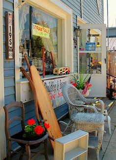 My favorite little shop in Port Sanilac, MI