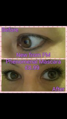 Another picture with the phenomenal mascara Fm Cosmetics, Fb Page, My Fb, How To Become, How To Make, Real People, Uk Online, Makeup Tips, No Worries