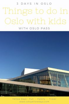 Things to do in Oslo with kids and making savings with Oslo Pass. We spend 3 days in Oslo, visit the best family attractions and report back. Best Family Vacations, Family Travel, Mall Of America, North America, Stockholm Shopping, Road Trip Europe, Travel Europe, Visit Oslo