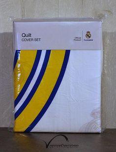 Grasshopper Obliečka Bavlna  Real Madrid 140x200 Real Madrid, Bedding, Company Logo, Logos, Cover, Linens, Bed Linen, A Logo, Slipcovers