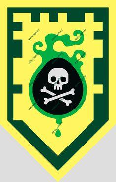 LEGO Nexo Knights Power - Aaron - Venom Bite   spyrius.org