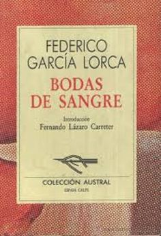 Bodas de sangre by Federico García Lorca My rating: 4 of 5 stars Book Review 4 out of 5 stars to Bodas de sangre, written in 1933 by Federico García Lorca. I read this book during a Spanish literat…