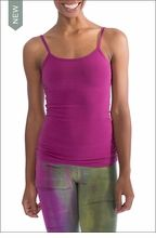 Long Speghetti Tank with Bra (586, Berry) by Hard Tail Forever