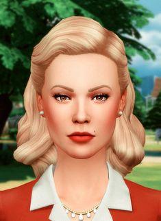 hiatus Sims 4 Cc Eyes, Sims 4 Cc Skin, Sims 4 Mm, Sims 4 Mods Clothes, Sims 4 Clothing, Sims Mods, Maxis, 1940s Fashion Women, Fashion Vintage