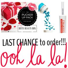 LAST CHANCE for this SMOOCHABLE offer! Get this for YOURSELF, or perfect gift for a bestie or colleague!!!  *PURCHASE HERE: http://bit.ly/FEB_BBB