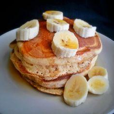 Klunker's Plant-Based Kitchen: Big fluffy pancakes (with pumpkin variation)