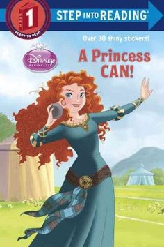 ER JOR. Merida, Rapunzel, and Tiana prove that they can accomplish anything if they just believe in themselves and try.