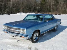 1965 Chevrolet Malibu 4 Speed
