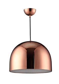 Dome Bowl 1 Light Pendant