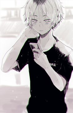Kenma Kozume is absolutely one of my favourites in this serie♡ Kagehina, Kenma Kozume, Akaashi Keiji, Hinata, Manga Boy, Manga Anime, Anime Art, Anime Boys, Haikyuu Fanart