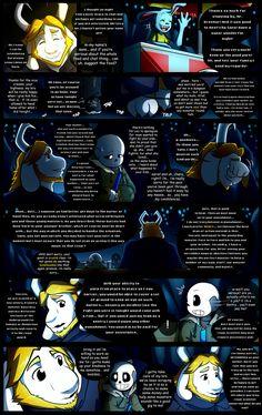 Reminiscence: Undertale Fan Comic Pg. 25 by Smudgeandfrank.deviantart.com on @DeviantArt