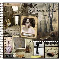 An art collage from November 2012 Journal Pages, Collage Art, History, Frame, Polyvore, Design, Women, Picture Frame, Historia