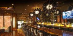 Side Bar - #interiordesign #glass #architecture #lighting #chandelier