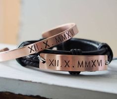 Couple bracelets, personalized bracelets, custom couples bracelet, anniversary gift boyfriend girlfriend, Christmas gift for him 10 Year Anniversary Gift, Girlfriend Anniversary Gifts, Christmas Gifts For Girlfriend, Anniversary Gifts For Couples, Diy Gifts For Boyfriend, Boyfriend Girlfriend, Boyfriend Stuff, Boyfriend Birthday, Future Boyfriend