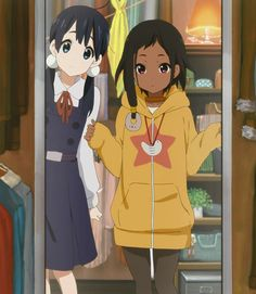 Another pic of Choi from Tamako Market. Kyoani stuff, as usual.